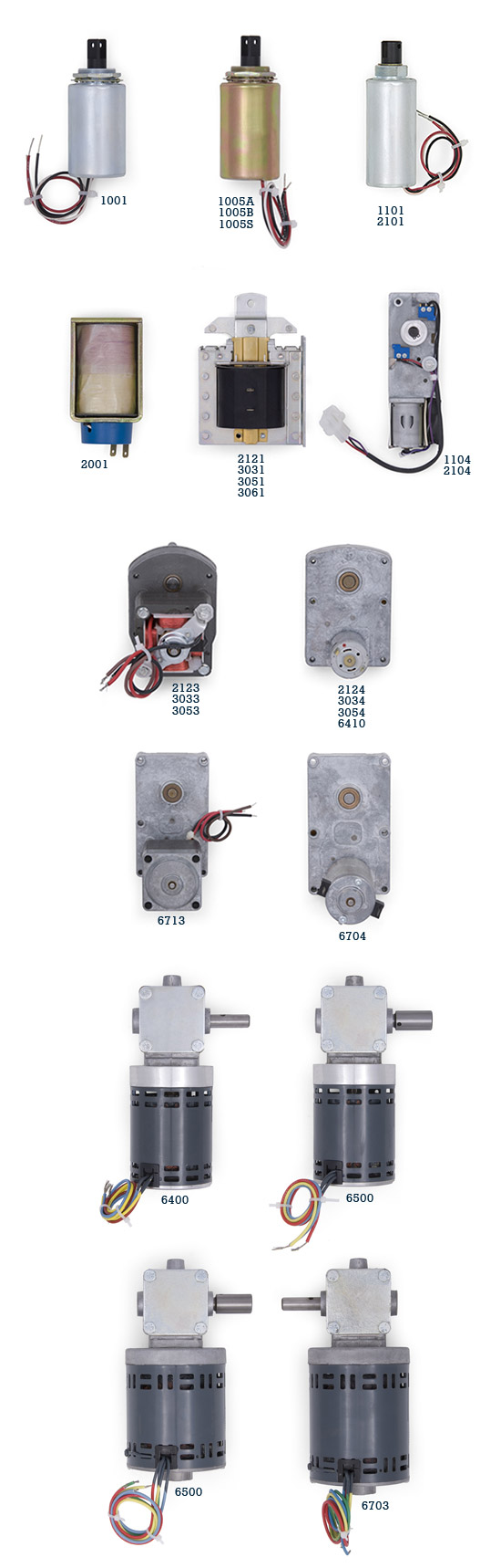 Adtec Motors and Solenoids